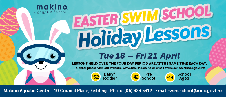 Makino Easter Swim School Holiday Lessons