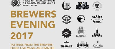 Brewers Evening 2017