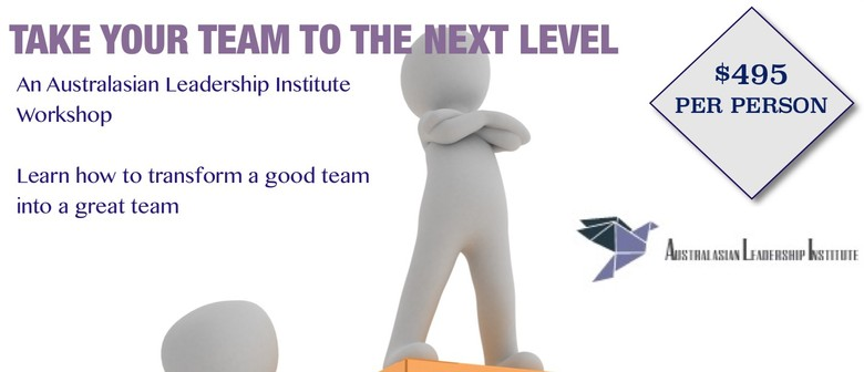 Take Your Team To The Next Level: A Mark Wager Workshop