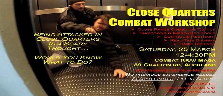 Close Quarters Combat Krav Maga Workshop