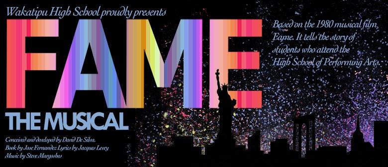 Fame - The Musical - Wakatipu High School Musical