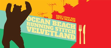 Ocean Beach, Running Stitch & Velvetland