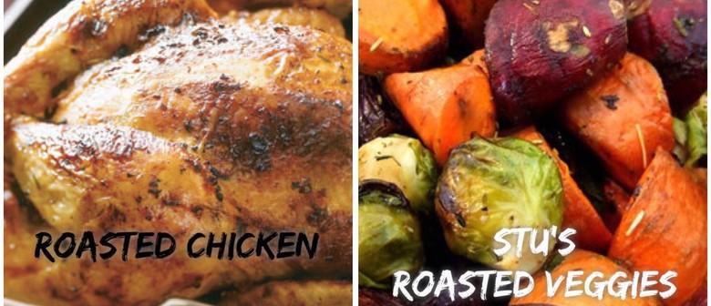 Stu's Kitchen: Taste Bud Testing Cookbook Event