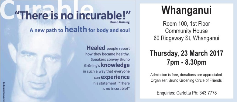 Information Lecture - Healing On the Spiritual Path