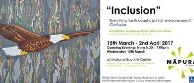 Inclusion Art Exhibition By Māpura Studios