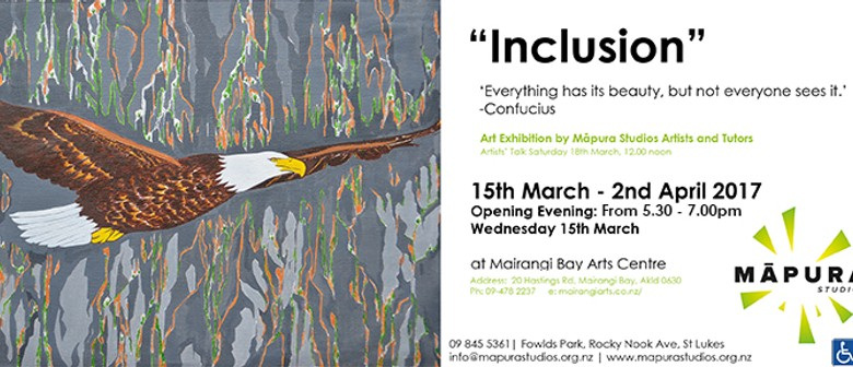 Inclusion Art Exhibition By Māpura Studios