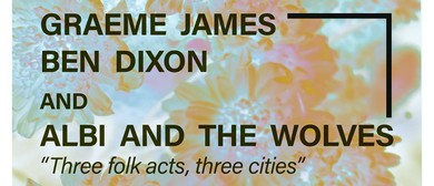 Graeme James bring Mr Dixon and The Wolves to Wellington