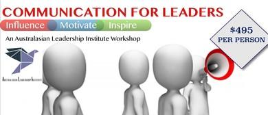 Communication Skills For Leaders: A Mark Wager Workshop