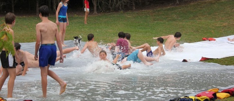 National Scout Water Slide Day