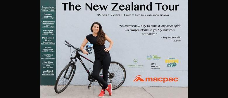 Returning Home: Sequoia Schmidt's Adventure Book Tour of NZ