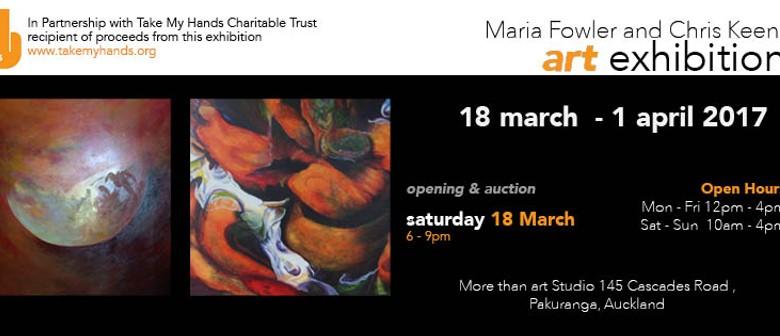 Maria Fowler and Chris Keenan Art Exhibition