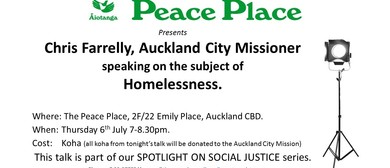 Spotlight On Social Justice: Homelessness