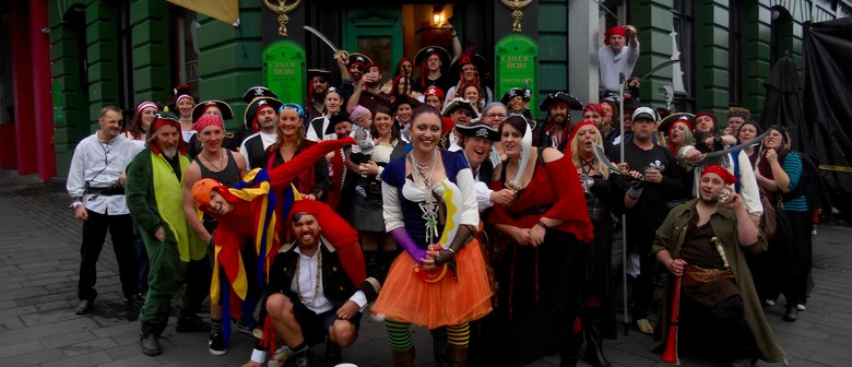 The 13th Annual Talk Like a Pirate Day Pubcrawl