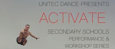 Activate - Secondary Schools Dance Performance & Workshops