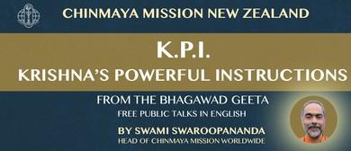 K.P.I. Krishna's Powerful Instructions