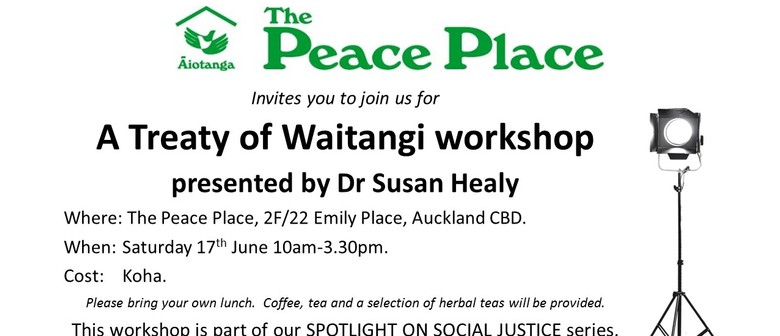 Spotlight On Social Justice: Treaty of Waitangi Workshop
