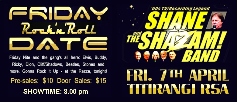 Rock N Roll Date With Shane & The ShaZam Band