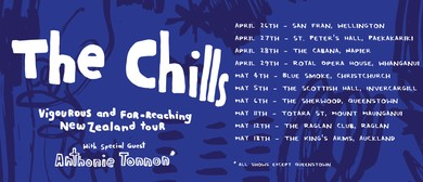 The Chills - Vigourous and Far-reaching New Zealand Tour