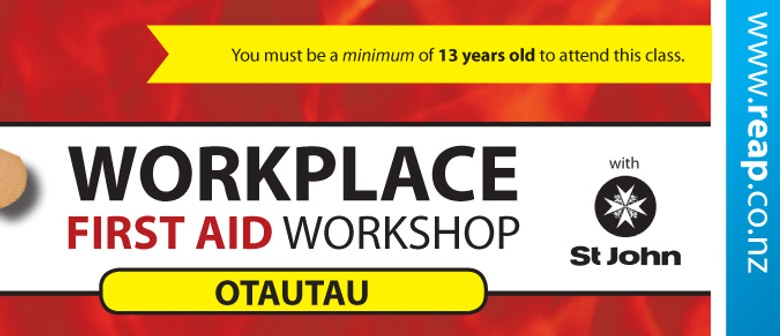 St John Workplace First Aid Training