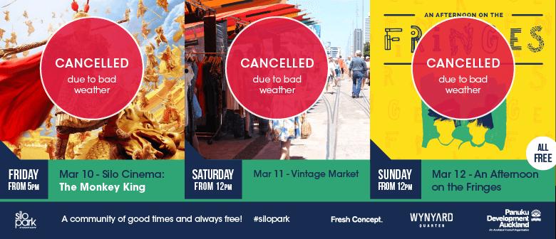 Silo Park Weekend 14: World Cinema and Vintage Market