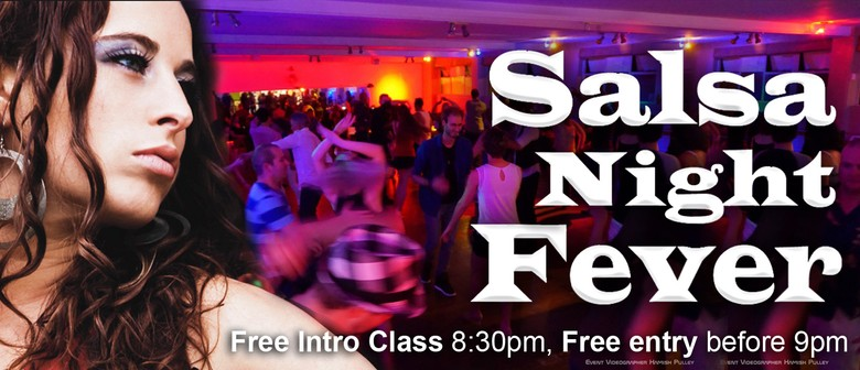 Salsa Night Fever Party: Intro Class & Performances