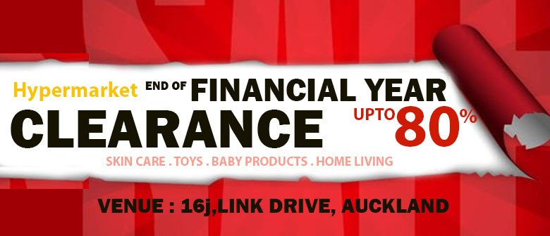 End of Financial Year Storewide Sale