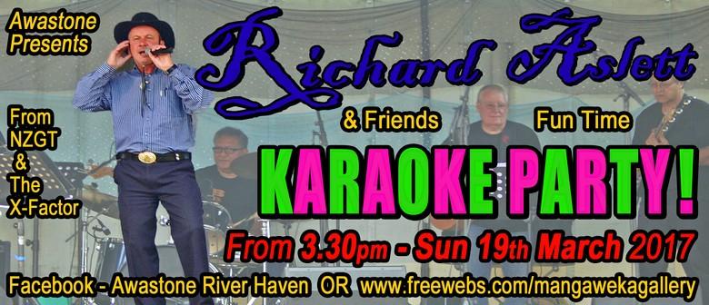 Richard Aslett and Karaoke PartY