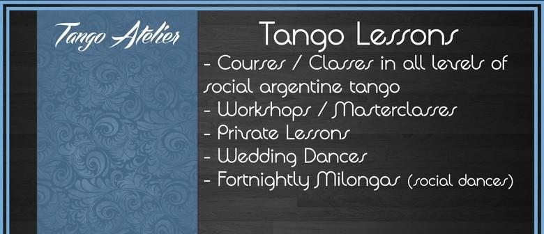 Tango Class-Lesson - Improvers/Open Level