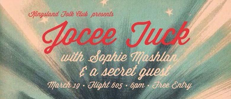 Kingsland Folk Club Presents Jocee Tuck