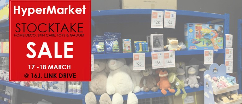 Stocktake Warehouse Sale!