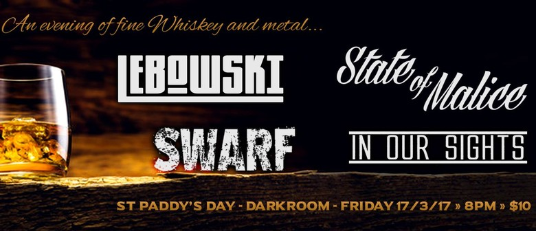 St Paddy's Day Whiskey and Metal