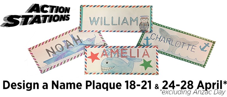 Action Stations: Design A Name Plaque