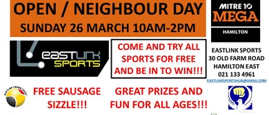 Open - Neighbours Day