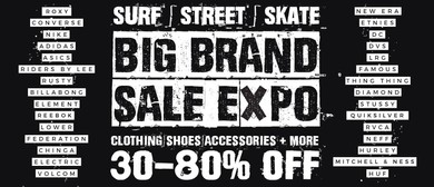 Big Brand Surf, Street, Skate, Snow Clothing & Shoes Sale