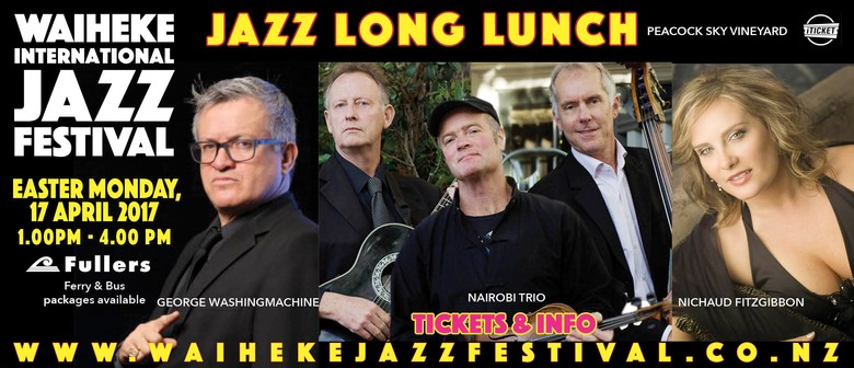 Waiheke Jazz Festival - Jazz Long Lunch