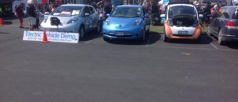 Festival of Motorsport - Electric Cars on Show