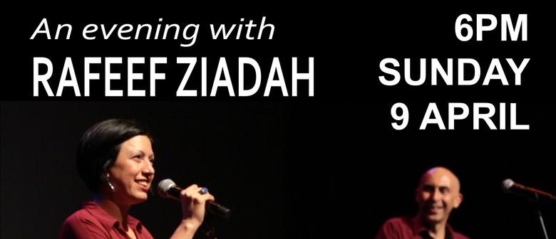 An Evening With Rafeef Ziadah
