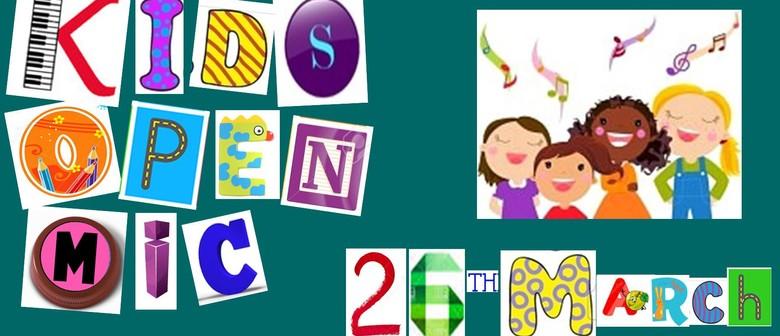 Kids Open Mic: Calling Your Talented Children, Grandchildren