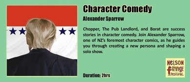 Character Comedy With Alexander Sparrow
