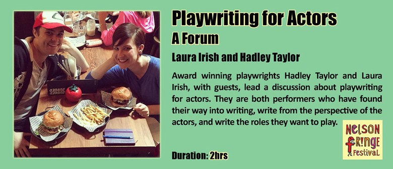 Playwriting for Actors: A Forum
