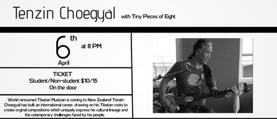Tenzin Choegyal With Tiny Pieces of Eight