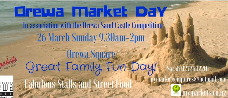 Market Day In Association With Orewa Sand Castle Competition