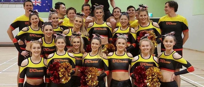 Mega Air - Uni of Canterbury Cheerleading Team - Fundraiser
