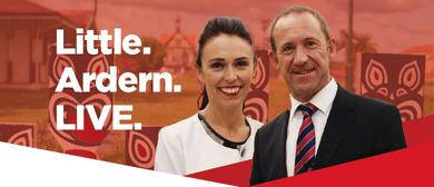 Andrew Little's State of Rotorua with Jacinda Ardern