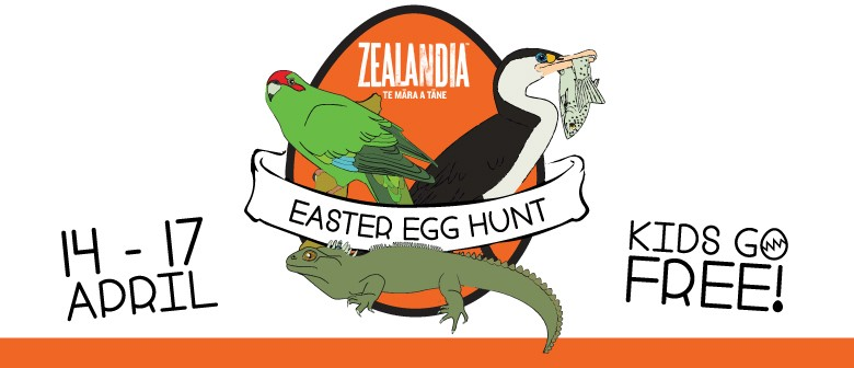 The Great Zealandia Easter Egg Hunt