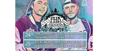 PHD Live In Wellington Hip Hop Monthly March