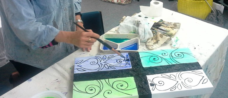 Abstract Fusion Art Workshop
