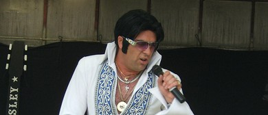 Elvis Tribute Show - Brendon Chase