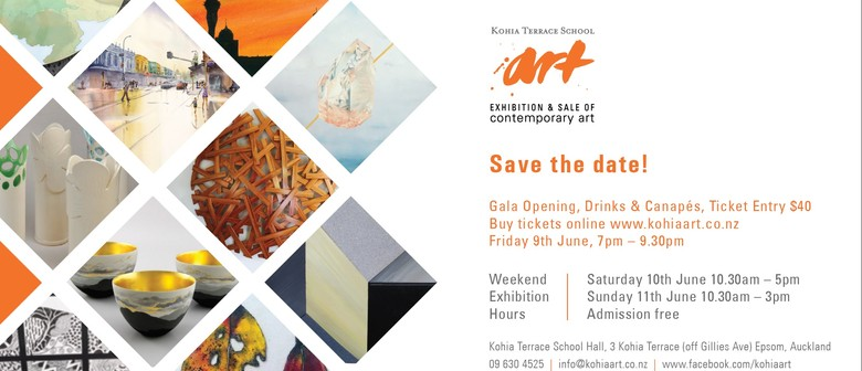 Kohia Terrace School Exhibition and Sale of Contemporary Art