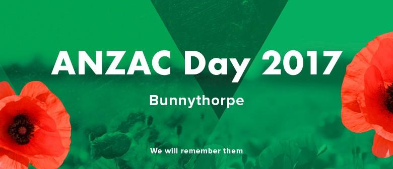 Bunnythorpe ANZAC Day Service